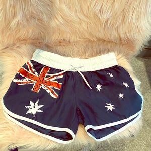 Australia Flag Casual Shorts